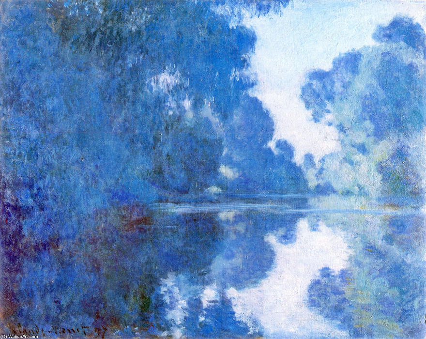 an analysis of claude monets use of color and brush strokes Claude monet's rough strokes and shifting forms looked like an unfinished product, which did not appeal to many critics and caused them to.