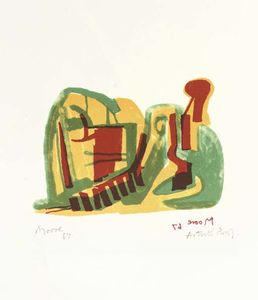 Henry Moore - лежащая фигура 2