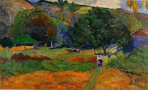 Paul Gauguin - немного долина
