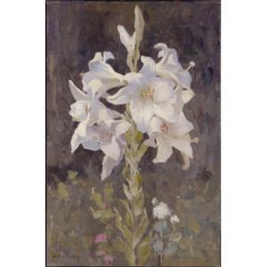 Eanger Irving Couse - Lillies