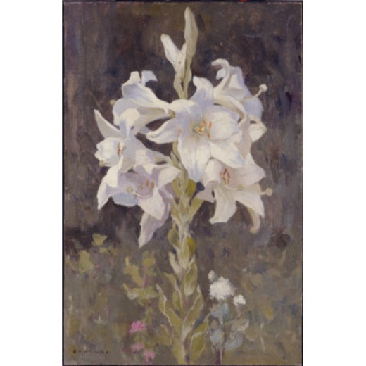 Lillies по Eanger Irving Couse (1866-1936, United States)
