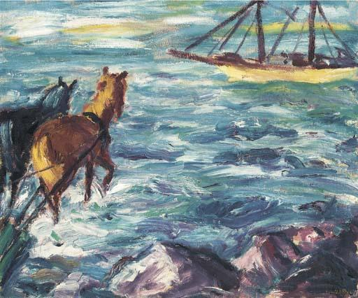 Посадка по Emile Nolde (1867-1956, Germany)