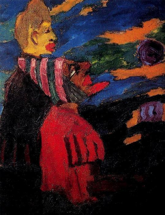Бродяг по Emile Nolde (1867-1956, Germany)