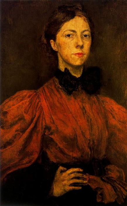 Self-portrait 1 по Gwen John (1876-1939, United States)