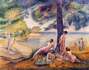 Henri Edmond Cross - место в Тень