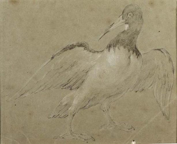 Oyster Catcher по Jean-Baptiste Oudry (1686-1755, France)