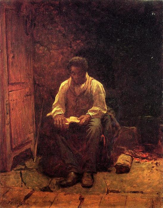 Господь мой пастырь по Jonathan Eastman Johnson (1824-1906, United Kingdom)