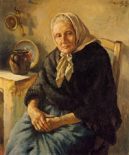 Abuelita по Jorge Apperley (George Owen Wynne Apperley) (1884-1960, United Kingdom)