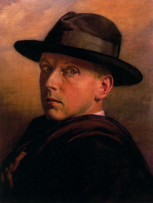 Self-portrait 1 по Jorge Apperley (George Owen Wynne Apperley) (1884-1960, United Kingdom)