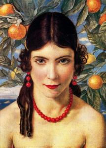 Jorge Apperley (George Owen Wynne Apperley) - Девушка с апельсинами
