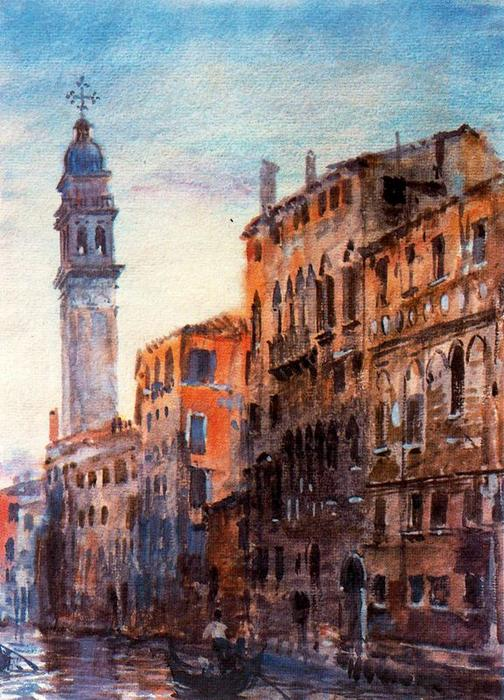 Venice 3 по Jorge Apperley (George Owen Wynne Apperley) (1884-1960, United Kingdom)