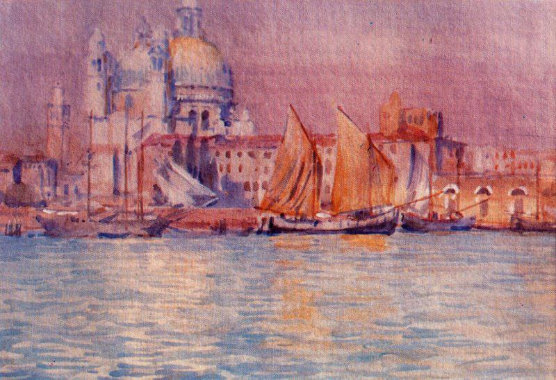 Venice 4 по Jorge Apperley (George Owen Wynne Apperley) (1884-1960, United Kingdom)