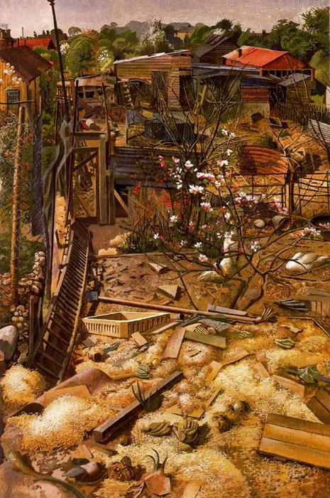Goose Выполнить. Cookhan Восстание по Stanley Spencer (1891-1959, United Kingdom) | ArtsDot.com