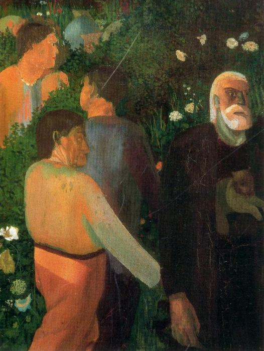 Йоахим среди пастухов по Stanley Spencer (1891-1959, United Kingdom) | ArtsDot.com