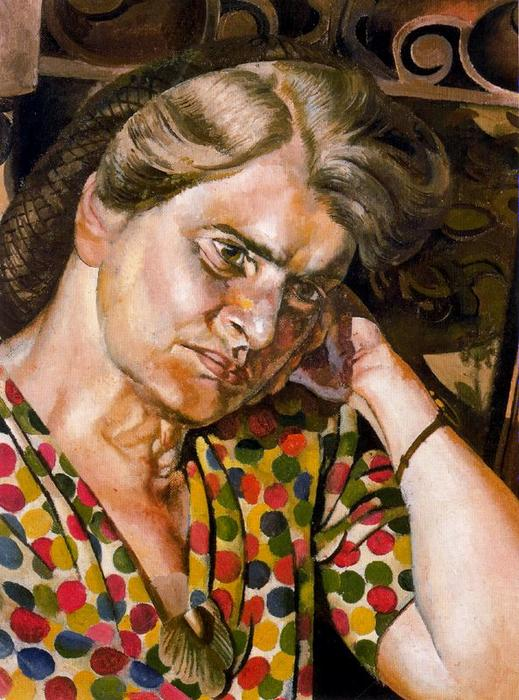 Портрет Хильда Carline 1 по Stanley Spencer (1891-1959, United Kingdom) | ArtsDot.com