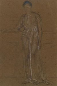 James Abbott Mcneill Whistler - Draped фигура постоянные