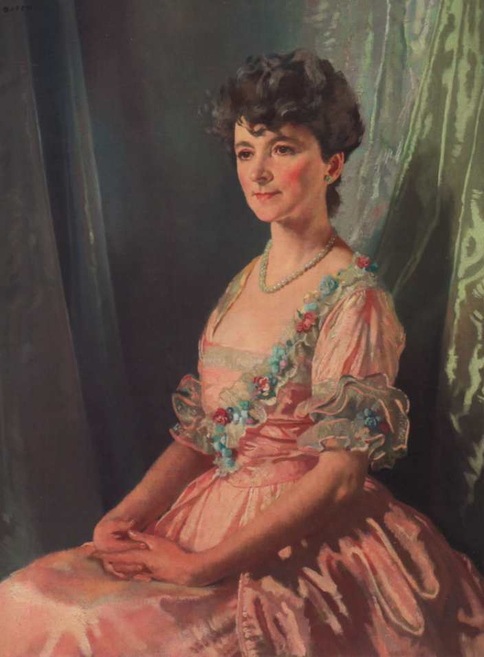 `francine` j. m. работник, 1921 по William Newenham Montague Orpen (1878-1931, Ireland)