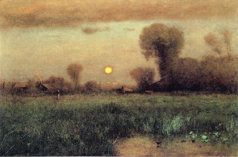 george inness early moonrise - 906×596