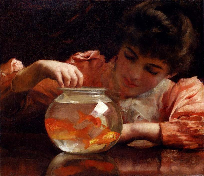 Часы простоя по Thomas Benjamin Kennington (1856-1916, United Kingdom)