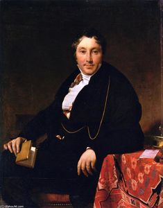 Jean Auguste Dominique Ingres - Жак-Луи Леблан