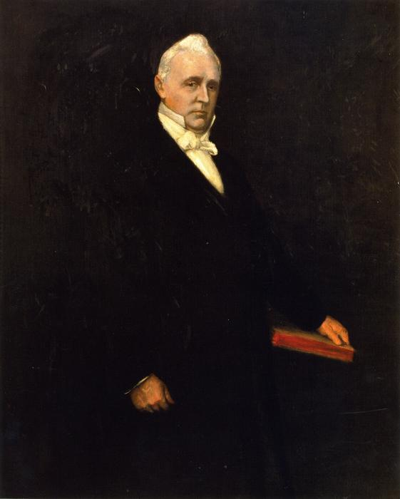 Джеймс Бьюкенен по William Merritt Chase (1849-1916, United States)