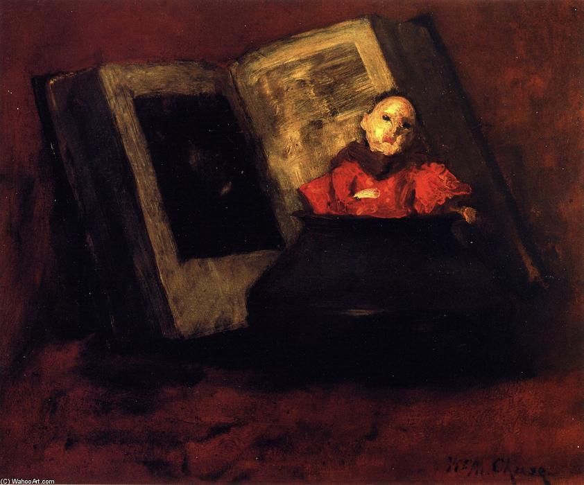 Японская кукла по William Merritt Chase (1849-1916, United States)