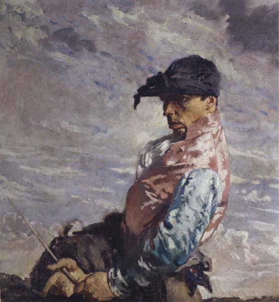 Жокей по William Newenham Montague Orpen (1878-1931, Ireland) | Репродукции Музея | ArtsDot.com