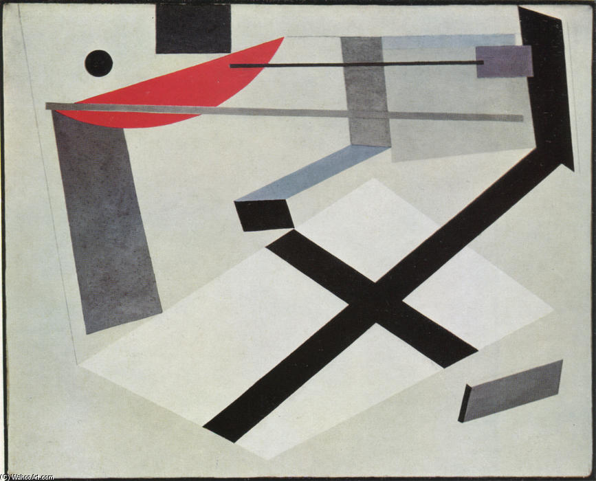 """el lissitzky The lenin tribune designed by el lissitzky from 1920-1924 is an oft rebuilt icon of modern """"graphic"""" constructivist architecture in 1984 (a fitting orwellian year for celebrating utopia) paul groenendijk and piet vollaard issued a set of five avant garde architectural cut-out and paste-up models, of which the tribune was one."""