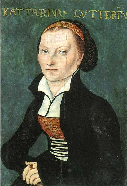 Катарина Лютер, 1526 по Lucas Cranach The Elder (1472-1553, Germany)