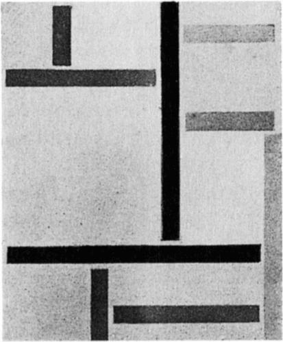 Состав XXV, 1923 по Theo Van Doesburg (1883-1931, Netherlands)