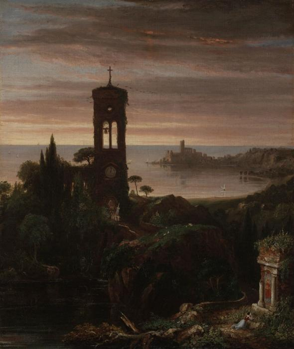 Веспер Гимн по Thomas Cole (1801-1848, United Kingdom)