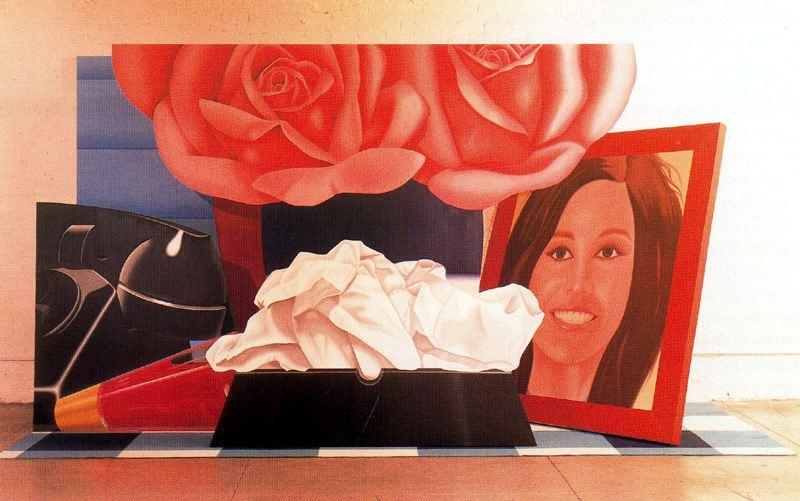 еще жизнь по Tom Wesselmann (1931-2004, United States)