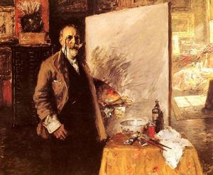 William Merritt Chase - Автопортрет