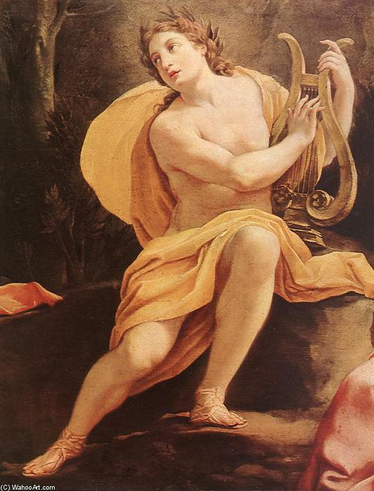 Парнас или Аполлон и музы (подробно), 1640 по Simon Vouet (1590-1649, France)