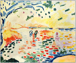 Georges Braque - little bay в la Сьота ( и..