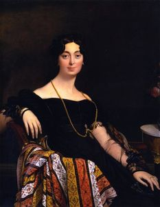Jean Auguste Dominique Ingres - Мадам Жак-Луи Леблан, урожденная Франсуаза Poncelle