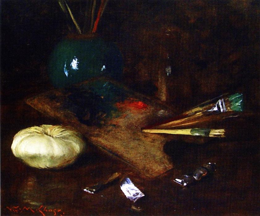 Моя палитра по William Merritt Chase (1849-1916, United States)