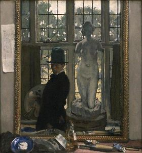 William Newenham Montague Orpen - Я и Венера