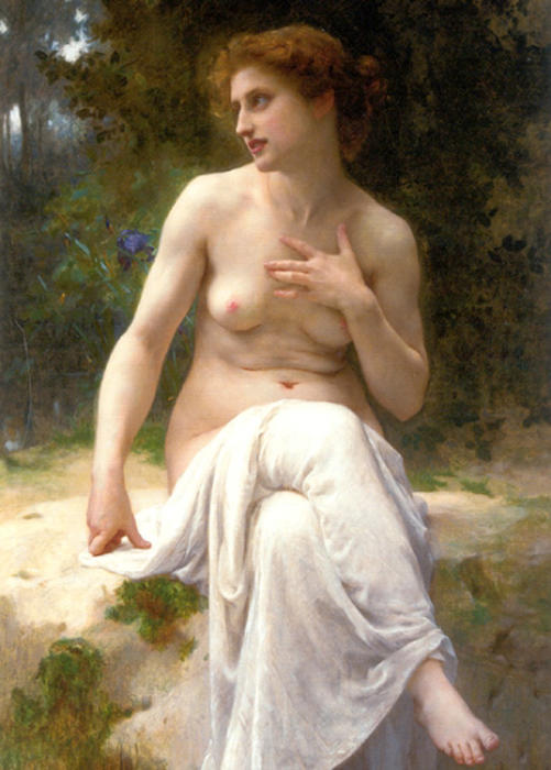Nymphe по Guillaume Seignac (1870-1924, France)