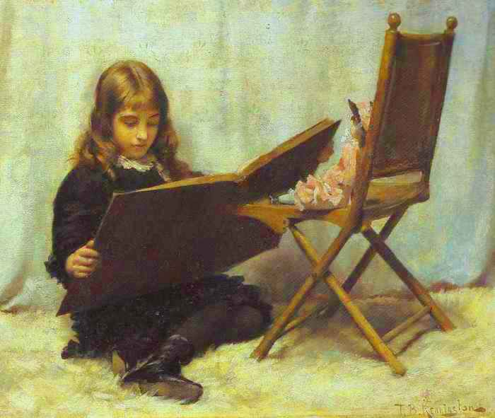 Изображение книга  по Thomas Benjamin Kennington (1856-1916, United Kingdom)
