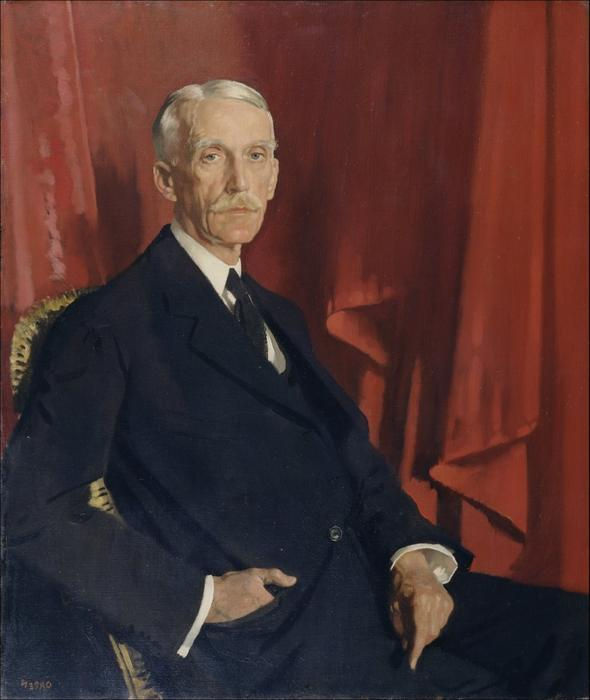 Портрет of Андрей У . Меллона, 1924 по William Newenham Montague Orpen (1878-1931, Ireland) | ArtsDot.com