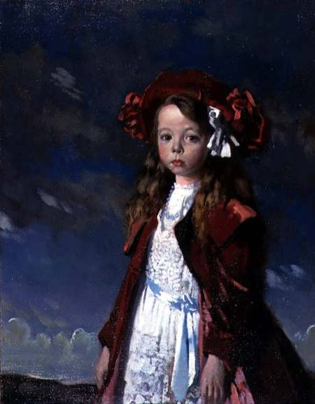 Портрет мисс Хармсворт по William Newenham Montague Orpen (1878-1931, Ireland) | Репродукции Музея | ArtsDot.com