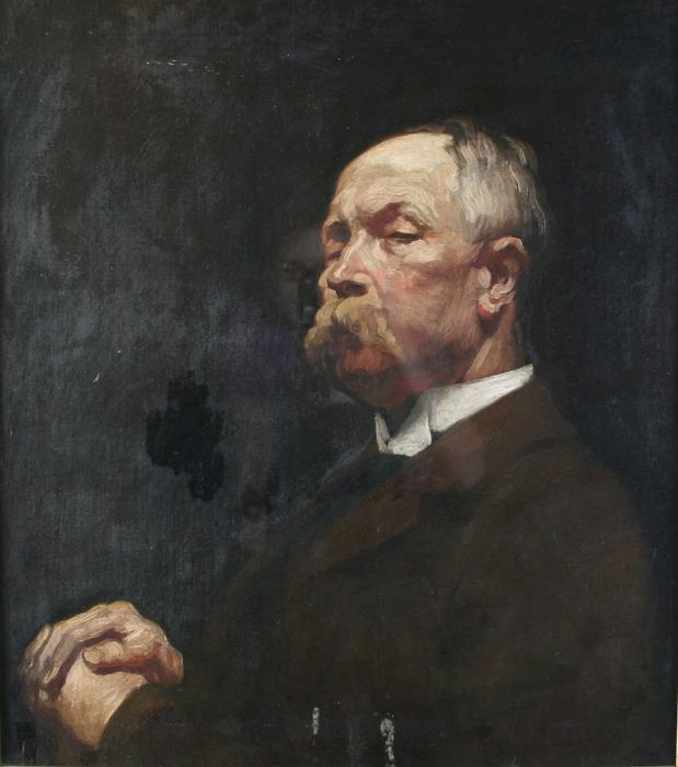 Портрет Мистер . Hayward по William Newenham Montague Orpen (1878-1931, Ireland) | Репродукции Музея | ArtsDot.com