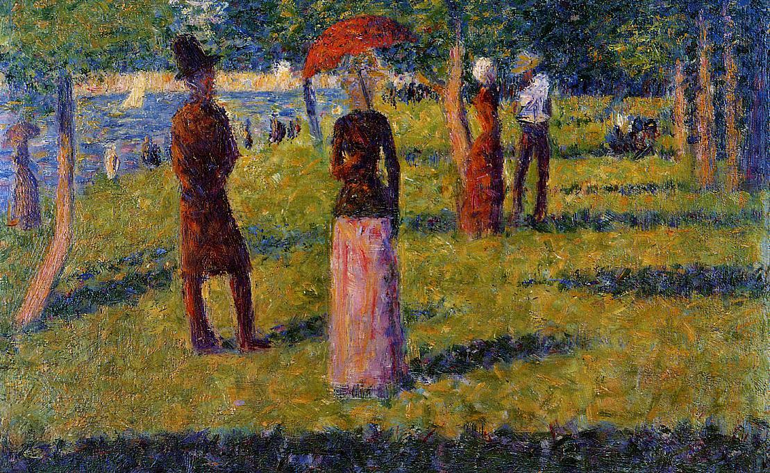 a biography of georges pierre seurat a painter Background georges pierre seurat was born on 2 december 1859 in paris his father, chrysostome-antoine seurat, had been a legal official in la villette.