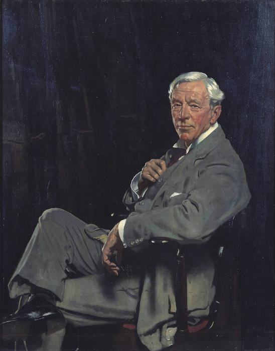 Сэр Уильям Маккормик, 1920 по William Newenham Montague Orpen (1878-1931, Ireland)