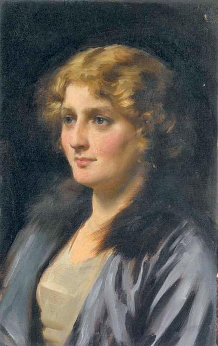стелла по Thomas Benjamin Kennington (1856-1916, United Kingdom)