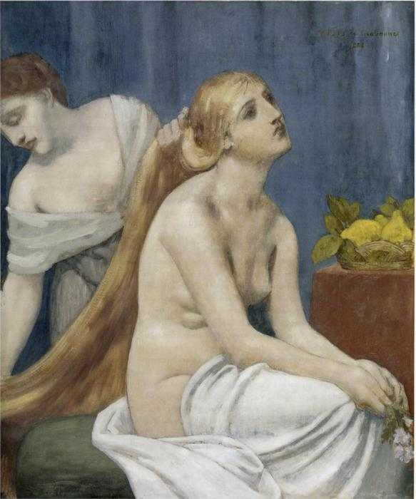 Туалетная по Pierre Puvis De Chavannes (1824-1898, France) | Репродукции Музея | ArtsDot.com