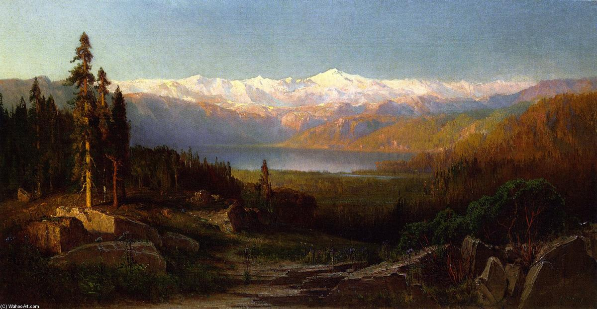 Смотреть в в Sierra null, холст, масло по Thomas Hill (1829-1908, United Kingdom)