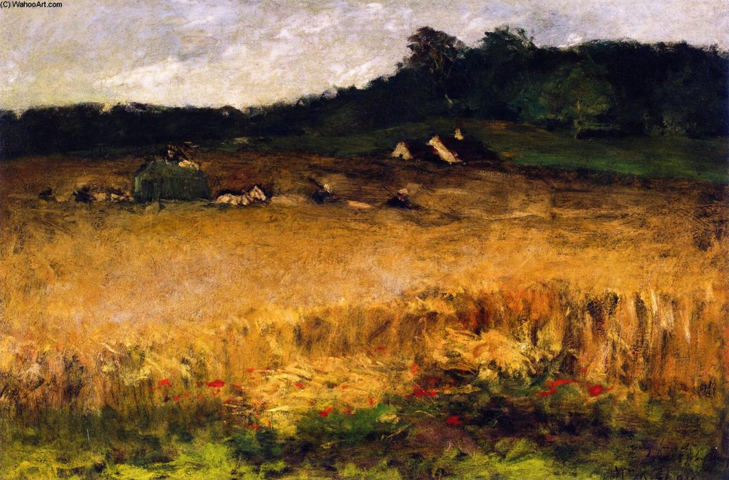 Пшеничное Поле, 1884 по William Merritt Chase (1849-1916, United States)