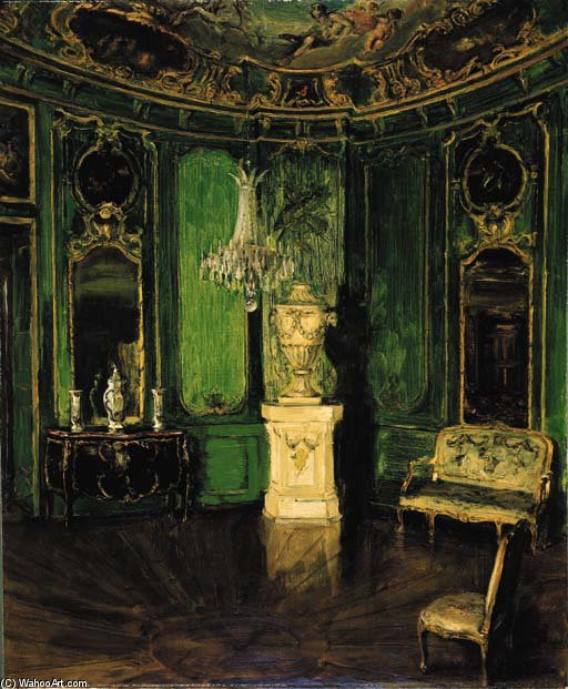 Intérieur Верт по Walter Gay (1856-1937, United States)